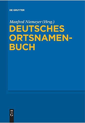 Deutsches Ortsnamenbuch