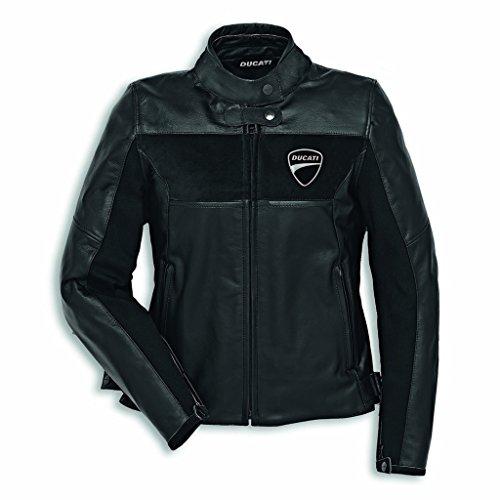 Ducati Company C2 Damen Lederjacke schwarz Größe 42