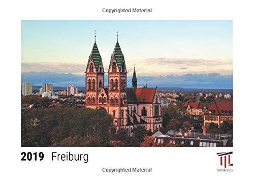 Freiburg 2019 - Timokrates desk calendar, picture calendar, photo calendar - DIN A5 (21 x 15 cm)