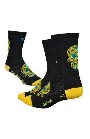 Defeet - Sugarskull Yellow - Yellow, M (EU 40-42.5) (Women 8,5-10,5) (Men 7-9) -
