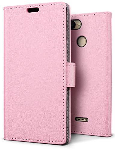 SLEO Funda Xiaomi Redmi 6 Carcasa Libro Cuero Ultra