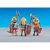 playmobil 6379 - 3 lion knights