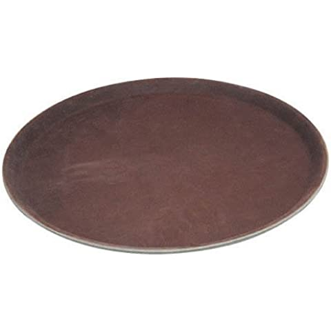 Winco Easy Hold Round Tray, 14-Inch by Winco USA