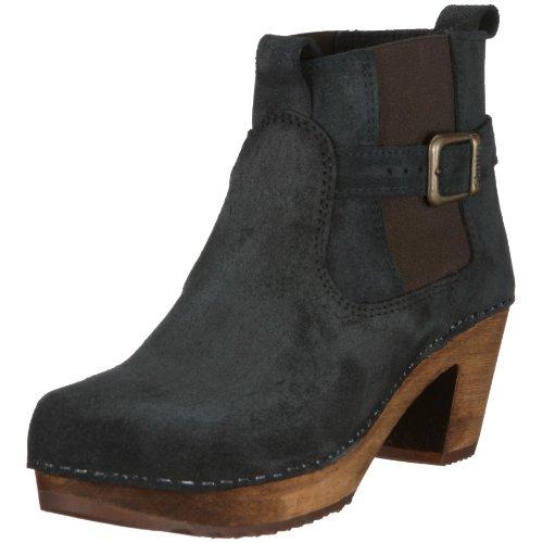 Sanita 454222-2 Peggy-Sue Square Boot, Damen Stiefel, Schwarz (black 2), EU 39