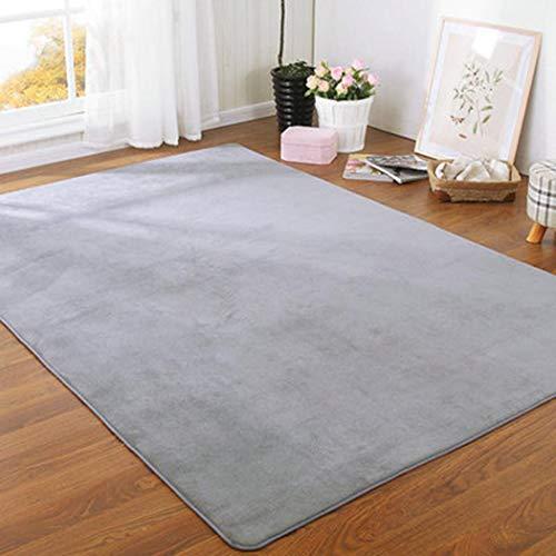 Ultrey Quadratische Verdickung Schlafzimmer Wohnzimmer Nachttischdecke Couchtisch Matte Teppiche