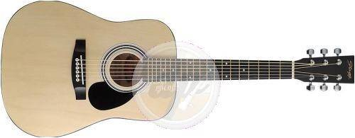 Stagg SW201 1/2 N Natural Dreadnought Acoustic Guitar natur