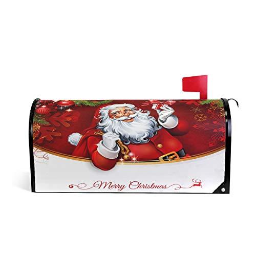 Weihnachtsmänner Geschenk, magnetisch, für Briefkasten, Winter, Urlaub, Standard-Größe