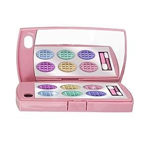 Coque rose palette de maquillage et miroir pour iPhone 4/4S