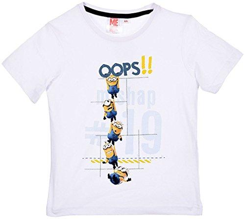 Universal Studios Minions Ich Einfach Unverbesserlich T-Shirt in Weiß Gr. 104