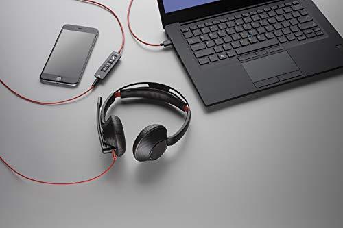 Plantronics C5220 Binaural USB-C und Kopfhörer Schwarz - 2