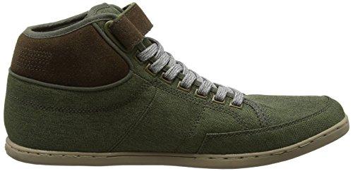 Boxfresh Swich, Baskets Hautes Homme Vert (kaki)