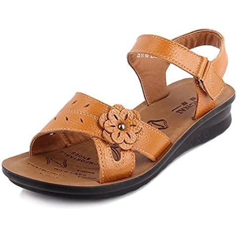 Mamma e cuoio scarpe/ Sandali slip/Middle e