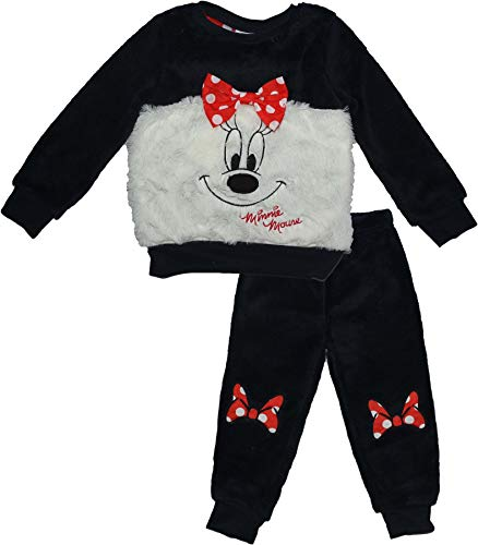 Disney minnie mouse, pigiama bambina, (blue 19-4010 tc), 6 anni