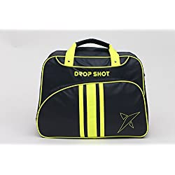 Drop Shot Calipso Bolso de Pádel, Unisex Adulto, Negro, M