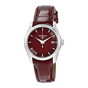 Tissot Damen-Uhren Analog Quarz One Size Leder 85524453