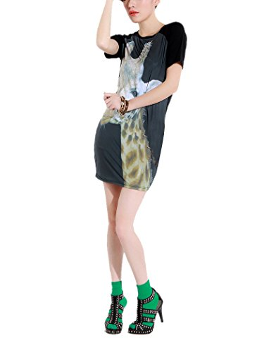 PinkyeeDamen T-Shirt SKU-0544 Mehrfarbig - SKU-0546