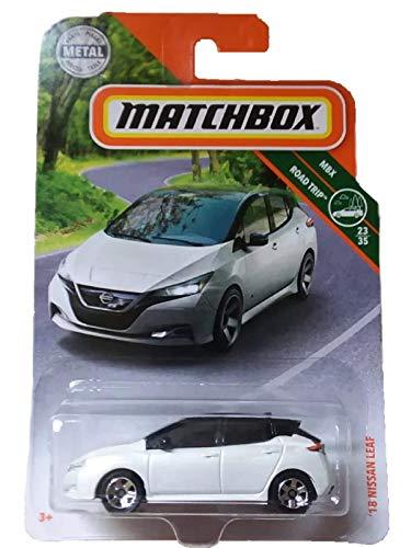 Matchbox 2019 MBX ´18 Nissan Leaf weiß 1:64