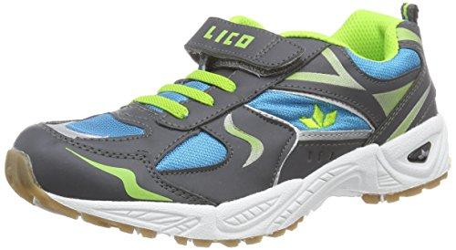 Lico Bob Vs, Chaussures de Fitness Garçon Bleu (blau/anthrazit/lemon)