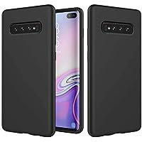 MUTOUREN Compatible con Samsung Galaxy S10 Plus Funda Silicona TPU Gel Goma Cover Case Anti-Choque Duradero Suave Carcasa para Samsung Galaxy S10 Plus - Negro