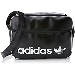 adidas Airliner Vintage Tasche, Black, One Size