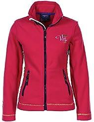 Vent du Cap - Mujer chaqueta de lana ARCANE-fucsia-XL