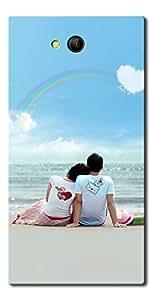 SEI HEI KI Silicon Printed Designer Back Cover for LYF Wind 4 - Multicolor