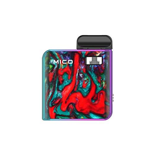 Preisvergleich Produktbild Original SMOK MICO AIO all-in-one Kit 1.7ml - 700mAh Batterie / Top füllen / Eingebauter Verdampfer Enthält Kein Nikotin (Prismenregenbogen)