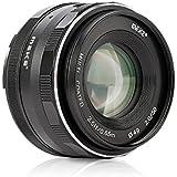 Meike Mk-50mm F/2.0Grande ouverture fixe mise au point manuelle objectif APS-C de travailler pour Nikon J1/J2/J3/J4/J5V1/V2/V3/V4appareils photo