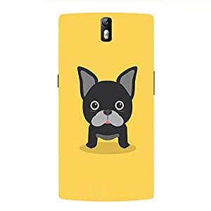 Back cover for OnePlus One Desi Pug