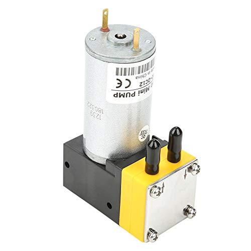 Akozon Membran Wasserpumpe DC 12 V 0,4-1L/min Elektromotor Mikromembran Vakuum Selbstansaugende Wasserdruck Membranpumpe Wassertransferpumpe Wasserdruck Membranpumpe