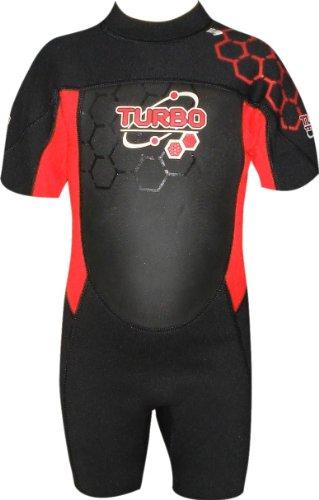 TWF - Traje para deportes acuáticos, color rojo, talla UK: 1-2 años