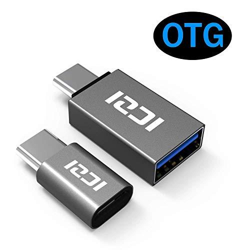 ICZI USB C a Micro USB Adattatore e USB C a USB...