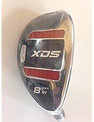 Acer XDS Hybrid / Rescue RechtshŠnder Graphitschaft rot Damen Flex, mit Headcover Nummer 8 (standard Griff)