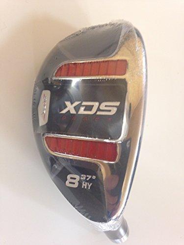 Acer XDS ibrido mano destra grafite rosso signore flex, headcover incluso numero 8 (standard grip) - Signore Golf Headcover