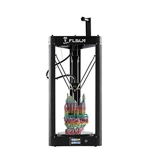 FLSUN Impresora Delta 3D premontada tamaño impresión