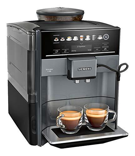 Siemens-TE651209RW-Kaffevollautomat-Polycarbonate-17-liters-Schwarz-Titan
