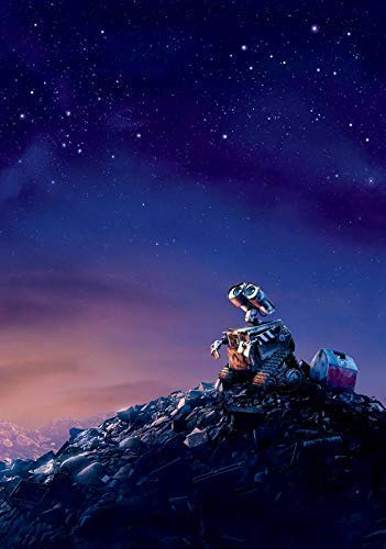 Generic Wall-E Film Foto Poster Textless Film Kunst Andrew Stanton Monsters Inc 08 (A5-A4-A3) - A5
