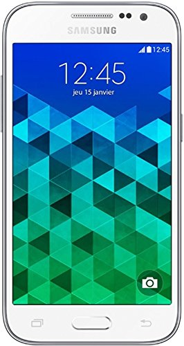"Samsung Galaxy Core Prime - Smartphone libre Android (pantalla 4.5"", cámara 5 Mp, 8 GB, Quad-Core 1.2 GHz, 1 GB RAM), blanco"