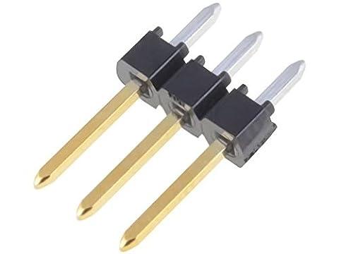 4x MX-90120-0763 Pin header pin strips C-Grid III male PIN3