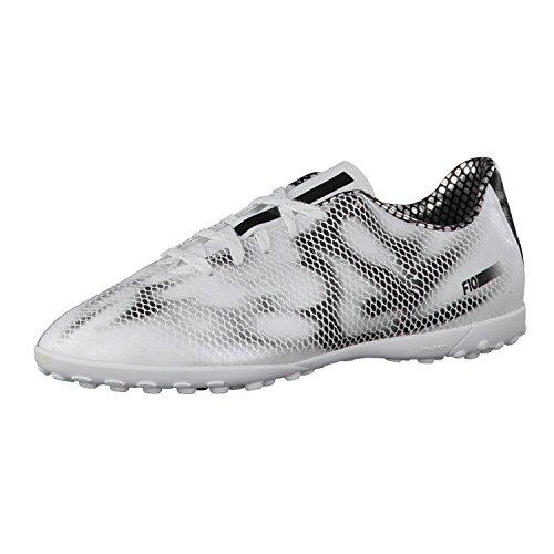 adidas - F10 Turf, Scarpe da calcio per bambini e ragazzi FTWWHT/CBLACK/CBLACK