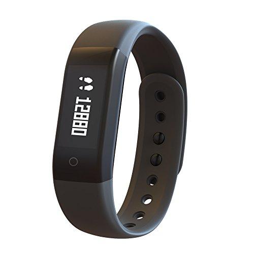 Fitness Tracker,GanRiver Smart Fitness Armband Sport Aktivitätstracker Mit Schrittzähler, Kalorienzähler,Schlafüberwachung ,Zeit / Datum Anzeige Für Damen/Herren/kinder ohne Bluetooth APP
