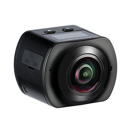 360-Grad-Panorama-Action-Kamera-MixMart-HD-1080P-WiFi-Wasserdichte-Action-Kamera-Helmkamera-220--Weitwinkel-20-Zoll-mit-2-Verbesserten-Batterien-und-Zubehr-Kits