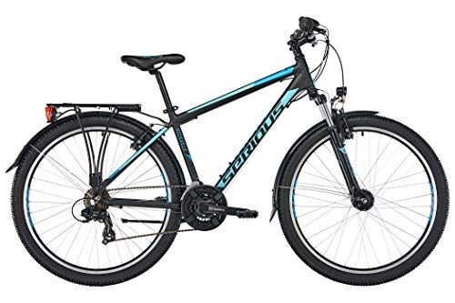 SERIOUS Rockville Street 27,5\'\' Black/Blue Rahmenhöhe 42cm 2019 MTB Hardtail
