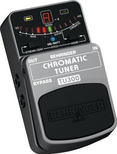 Behinger TU300 Chromatic Pedal Tuner For Guitar and Bass - Bass Tuner