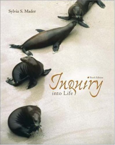 Inquiry Into Life by Sylvia S. Mader (2002-03-21)