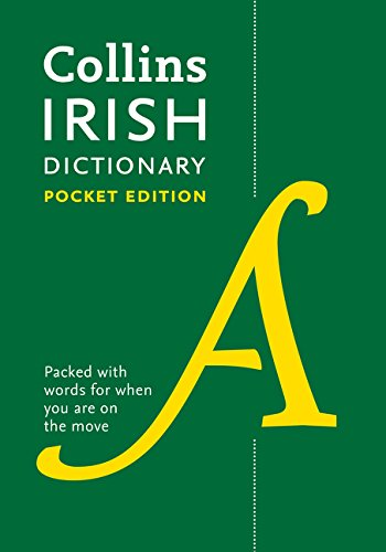Collins Irish Dictionary Pocket edition: 61,000 translations in a portable format (Collins Pocket) por Collins Dictionaries