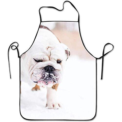 ouyjian Aprons for Men Animals Cute Dog Deluxe Cute Aprons Chef Kitchen Cooking and Men & Women Baking Bib BBQ Apron (Cute Animals Kostüm)