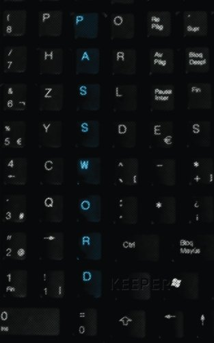 Password Keeper: Password Reminder Book Keyboard Cover
