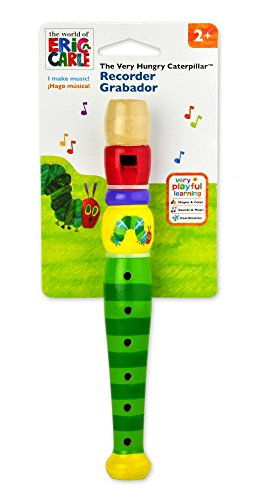 Kids Preferred The World of Eric Carle Wood Recorder by Kids Preferred (English Manual)