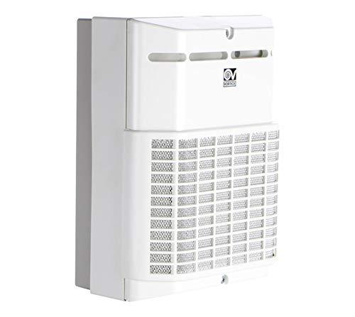 Vortice 11900 Aspiratore Bagno Ventilatore Micro S Centrifugo da condotto con chiusura a Farfalla Portata 90 m3/h Diametro Nominale 100 mm